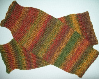 Extra large multi-coloured leg warmers. MADE TO ORDER