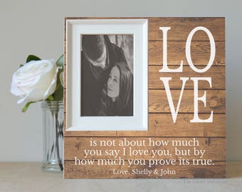 Unique Wedding Gift - Personalized Wedding - Anniversary Gift - Gift For Couple - Engagement Gift - Personalized Gift - Custom Picture Frame