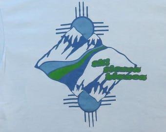 80's Vintage T Shirt Ski Sierra Blanca New Mexico Tourist Souvenir