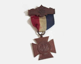 Women's Relief Corps 1883 Vintage Award Medal