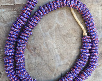 Ghana Small size New recycle glass beads trade beads
