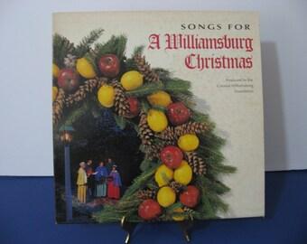 Colonial Williamsburg Foundation - A Williamsburg Christmas - Circa 1982