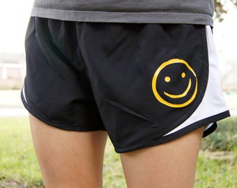 SAMPLE SALE Sherlock Smiley Face Shorts