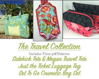 The Travel Collection - 3 PDF Patterns