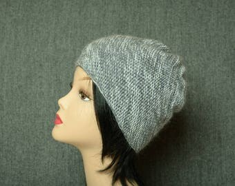 Chunky Knit Hat, wool knitted beanie, winter womens hat, cute gift, womens accessories