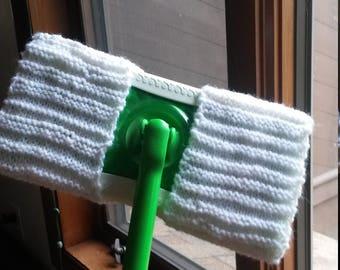 Handknit Reusable Swiffer cloth pad