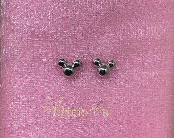 Mini Mickey Mouse stud earrings