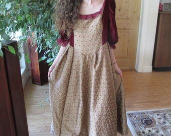 Princess, Period Dress, Elizabethan, Costumes, Theatre, Cosplay, Reenactments, Shakespeare, Reenactment Clothing, SIze 8 -10