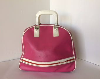 Vintage Pink Brunswick Bowling Ball Carrying Case