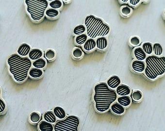 Creating jewelry ☆ cat dog paw print charm pendants, findings, beads ☆