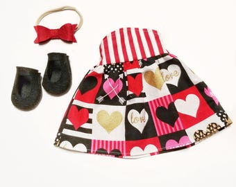 Hearts Dress - Dress Up Outfit