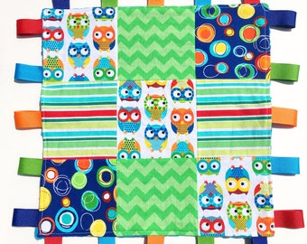 Plush OWL tags