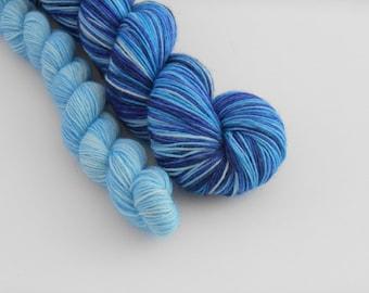 LOVE SOCK self-striping, 026, merino nylon sock yarn,100g