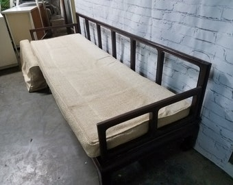 Mid Century asian day bed / Teak mid century day bed