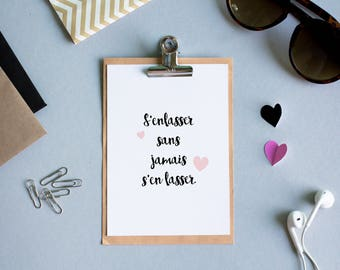 Postcard Love - Declaration, Envelope Stationery, black and white, valentine, statement, sweetheart, couple - A