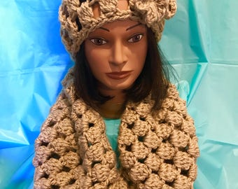 Infinity Scarf and Hat set