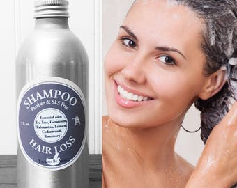 Shampoo Hair loss  - made with Natural Essential Oils and Hemp seed oil
