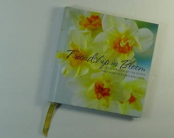Friendship in Bloom - a book for Art. Mixed Media, Altered Books, Journaling etc.