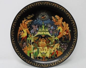 1989 Tianex Russian Ludmila Fairy Tale Legend Plate The Bradford Exchange Number 5 / 6 / 7/ 8