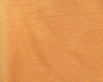 Fabric - Cotton/elastane rib fabric - 240gsm - Mustard.
