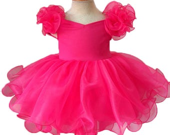 girl pageant dress Y005