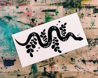 Starry Serpent Sticker
