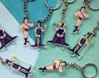 Disney Villains Pin Up | Keychains