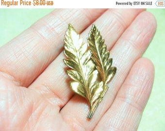 CLEARANCE Copper leaf brooch, vintage copper brooch, vintage brooch, collectible brooch, vintage jewelry