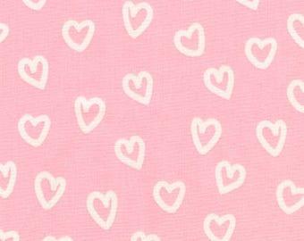 Penned Pals - Hearts Pink - Ann Kelle - Robert Kaufman (AAK-17047-10)