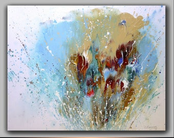 24x31.5 Acrylic painting canvas art | Modern fine art | Original Artwork  ABSTRACT PAINTING | Art for living room | painting for office