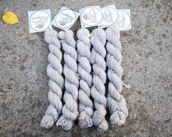 Sock Mini skeins - 75/25 Merino SW/Nylon - Fingering Weight 4ply - 20 grams - 85m/93yards - OOAK