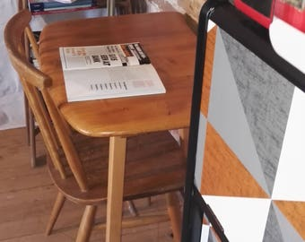 SOLD  Ercol Plank Table DeskSOLD