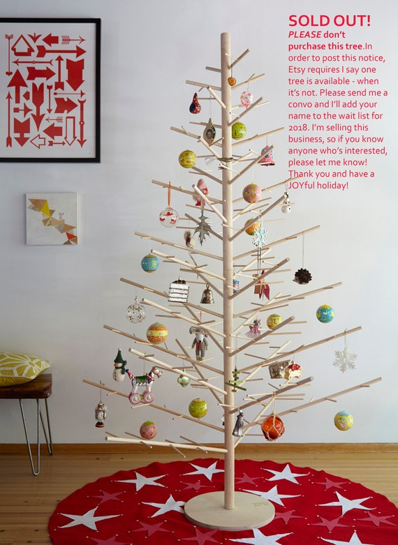 Wood Christmas Trees by ReTreeJoy 6ft tall Handmade in the