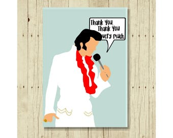 Elvis Magnet, Famous Person Magent, Refrigerator Magnet, Elvis Presley Art, Gifts Under 10, Small Gift, Thank You Gift, Happy Birthday Gift