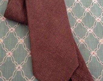 Scottish all lambs wool necktie