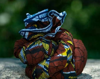 ON SALE African Print Scarf