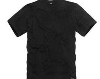 Custom Printed BLACK T-Shirts