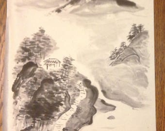 Japanese Sumie Painting