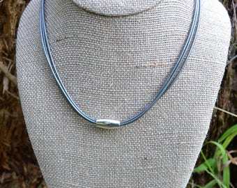 Silver Lining Simple Choker Necklace