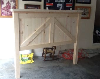 Barn Style Bed
