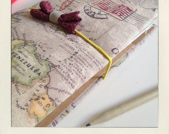 Buldori - kit Organiseur atlas + carnets - traveler notebook - Bullet journal - fauxdori - midori