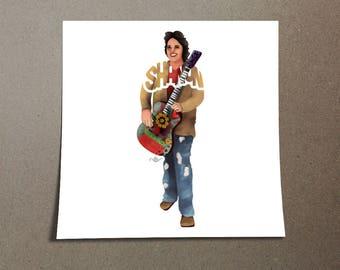 Shanon Person Custom Poster Design
