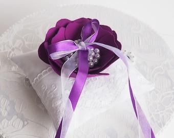 Wedding Ring Pillow, Wedding Pillow, Lace Ring Pillow, Ring Cushion, Ring Bearer, Ring Bearer Pillow,