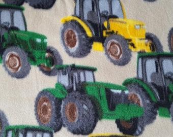 Tractors Fleece Fabric (1 yard)