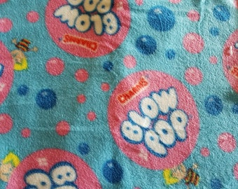 Blow Pop Fleece Fabric (1 yard 8 inches)