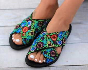 Jardin sandals, Leather sandals, Greek leather sandals, Genuine Greek leather sandals, Handmade sandals