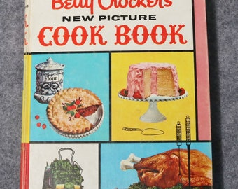 Betty Crocker's New Picture Cook Book 1961, 1st Edition, 2nd Printing-Hardcover
