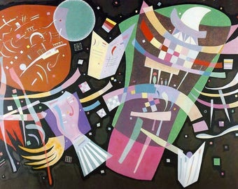 """Laminated placemat Kandinsky """"Composition 10"""""""