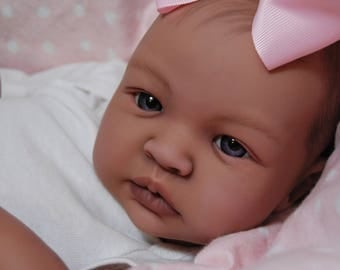 Custom Made to Order Reborn AA Shyann sculpt ooak doll lifelike fake art artist Baby ~