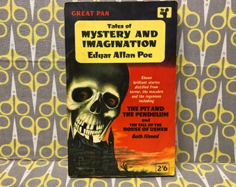 Tales of Mystery and Imagination by Edgar Allan Poe paperback book horror collection